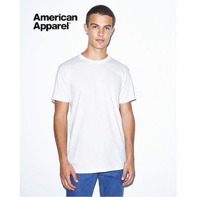American Apparel Unisex Organic T-Shirt White